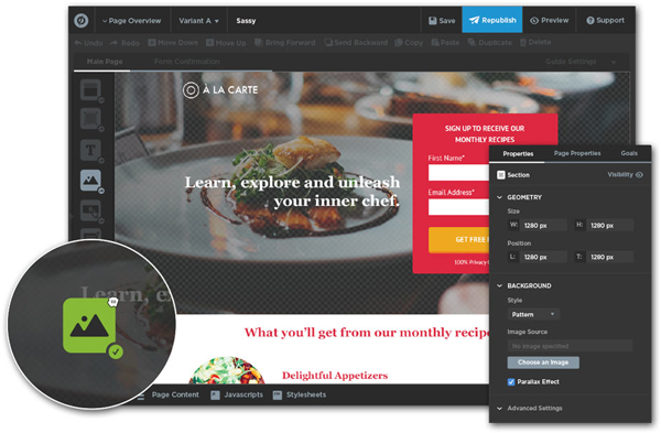 unbounce Marketing Tools