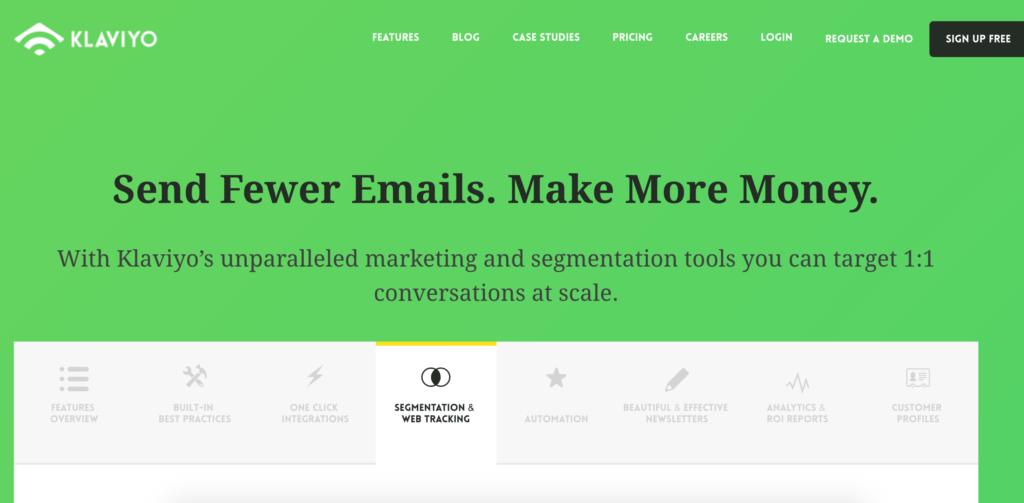 Klaviyo Email Service Provider