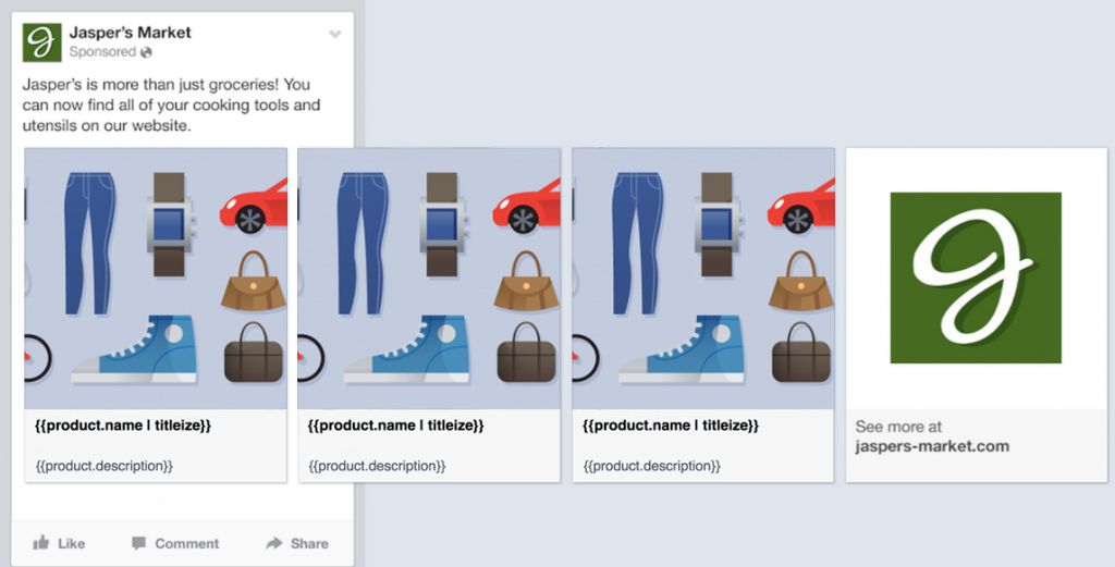 facebook ads dynamic ads